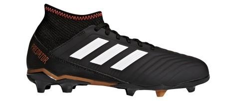 Scarpe calcio bambino Adidas Predator 18.3 FG nere
