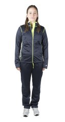 Felpa Donna Authentic Full Zip Triace