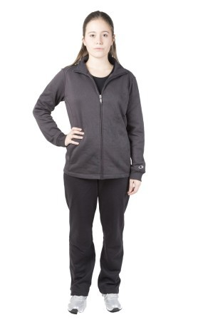 Felpa Donna Easy Fit Full Zip