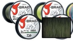 Filo J-Braid X8 D0,16 MT300