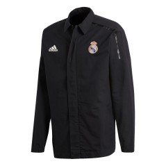 Felpa Real Madrid ZNE Jacket nera