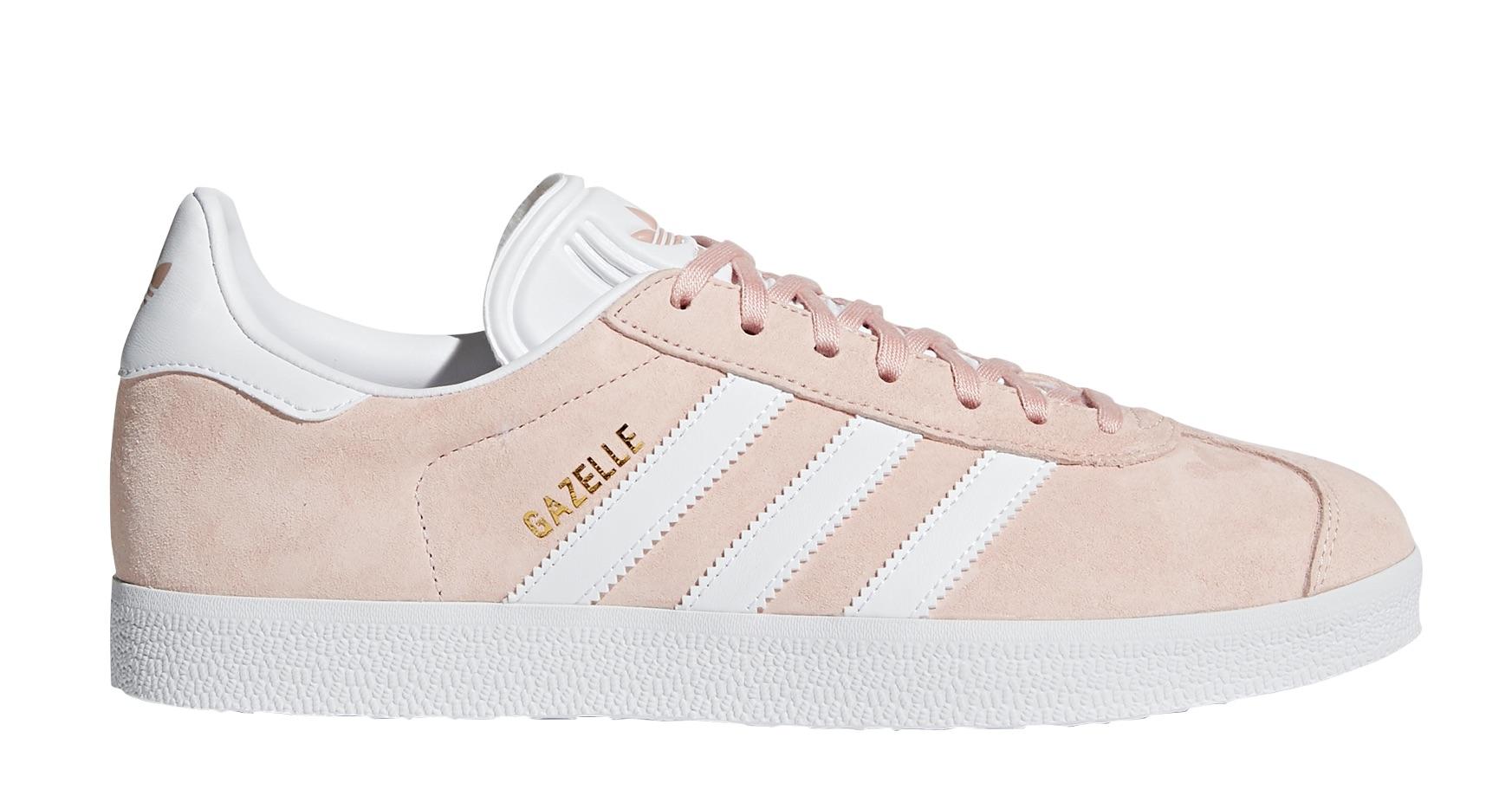 size 40 c7d93 e3fb6 Mens Shoes Gazelle colore Pink White - Adidas Originals - SportIT.com