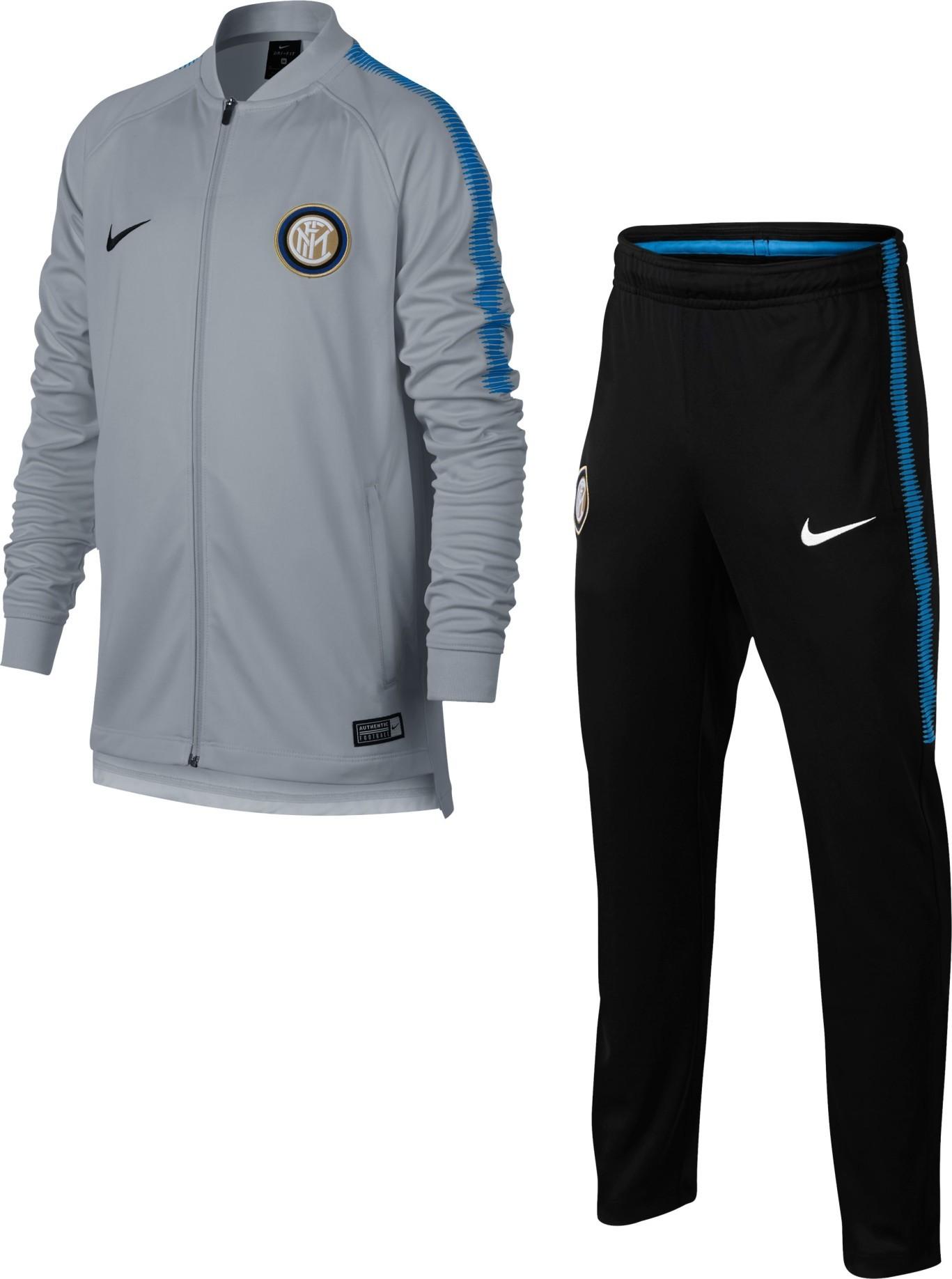 Inter tuta rappresentanza bambino junior nera 201920 Nike