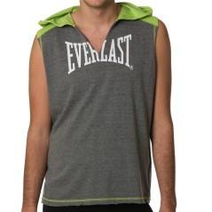 Canotta da uomo con cappuccio Everlast per il fitness Jack Gym
