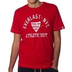 T-shirt in cotone Everlast per il Fitness della linea Strike Your Balance