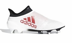 Chaussures de football Adidas X 17+ SG blanc