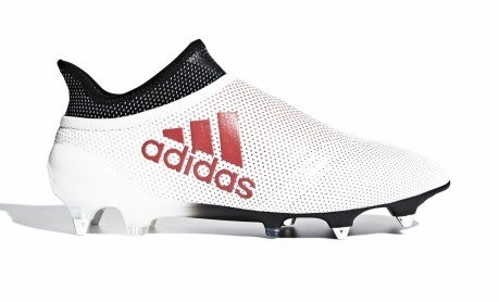 Chaussures de football Adidas X 17 SG blanc