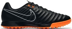 Chaussures de Football Nike Tiempo LegendX VII TF noir orange