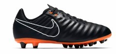 Enfants chaussures de Football Tiempo Legend VII Pro AG-noir-orange