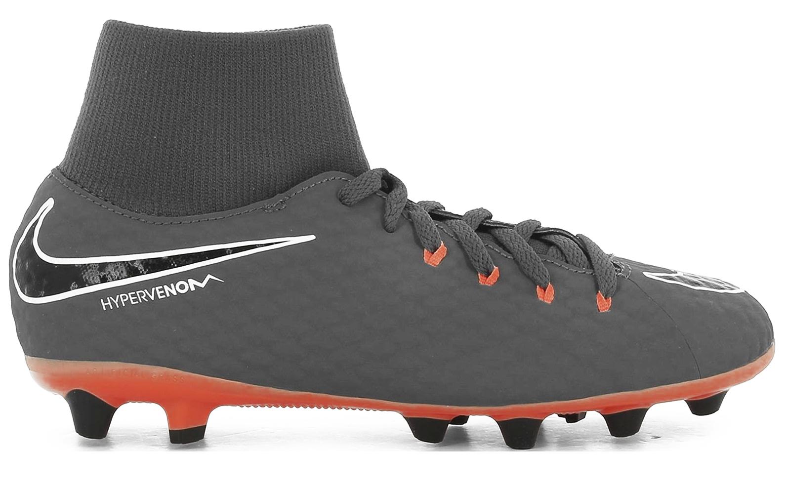 5a7d893abe Soccer shoes Child Nike Hypervenom Phantom III Academy AG Pro Fast AF Pack  colore Grey Orange - Nike - SportIT.com
