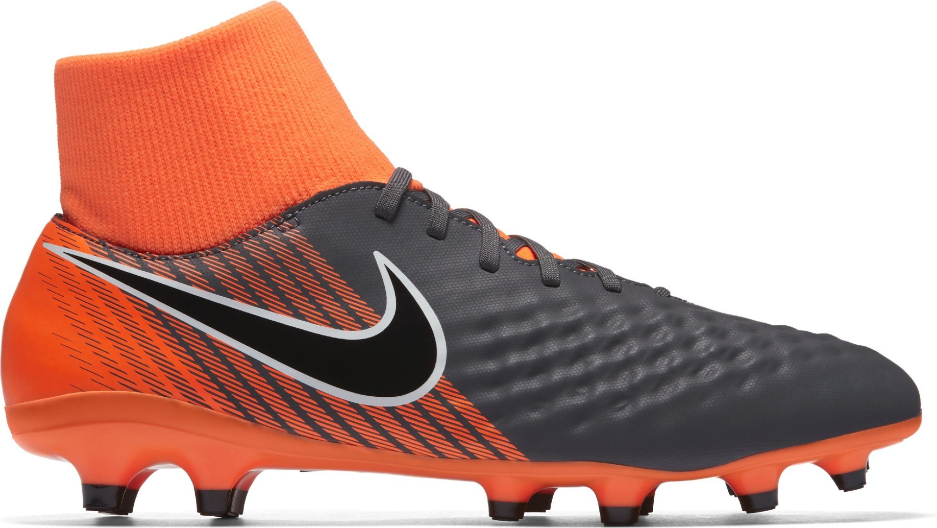 online store 65a47 469d0 Football boots Nike Magista Obra II Academy DF FG Fast AF Pack colore Grey  Orange - Nike - SportIT.com