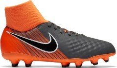 Chaussures de Football Magista Obra II de l'Académie FG orange gris