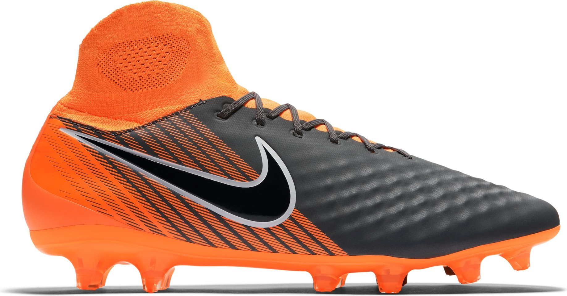 ed82cb482 Football boots Nike Magista Obra II Pro DF FG Fast AF Pack colore Grey  Orange - Nike - SportIT.com