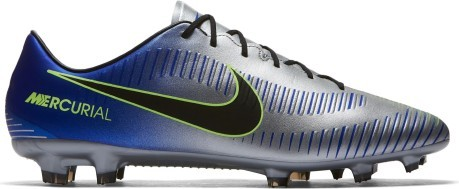be2c0e434db1 Football boots Nike Mercurial Veloce III Neymar FG colore Grey Blue ...