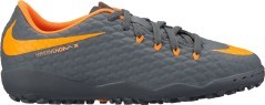 Chaussures de football Hypervenom enfant PhantomX TF gris orange