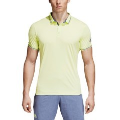 Men Polo Pique yellow model