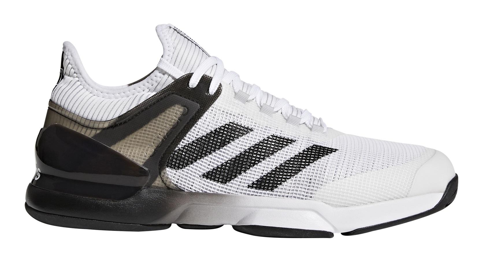 Tennis Shoes Men AdiZero UberSonic 2 colore White Black - Adidas -  SportIT.com 62548067d8f