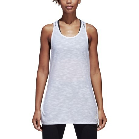 Tank top Damen ID Loose Tank weiß model