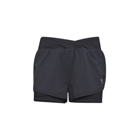 Short Donna Double Layer nero