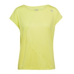 T-Shirt Running Donna L Bright verde
