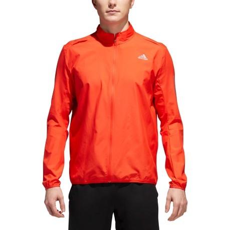 uomo running jacket adidas