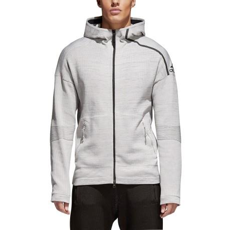 846ee189e7c Men's sweatshirt ZNE Primeknit colore Grey - Adidas - SportIT.com