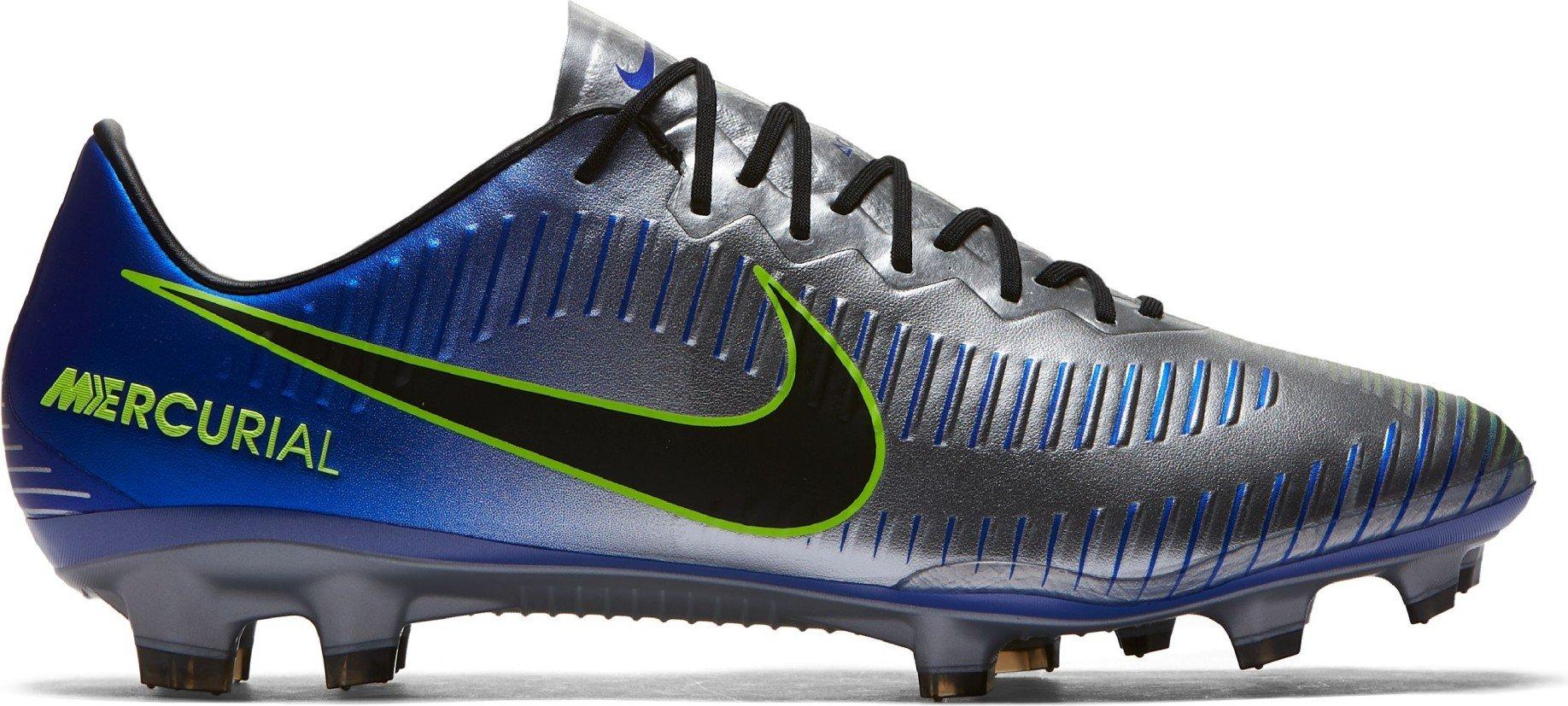705fed724 Football boots Mercurial Vapor XI Neymar FG colore Grey Blue - Nike -  SportIT.com
