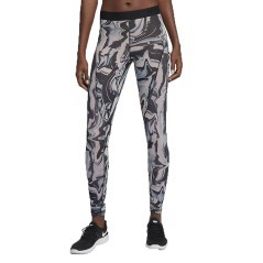 Tight Women's Training Pro HyperCool gray patterned worn