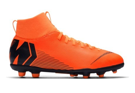 best authentic ffea3 8f7c8 Soccer shoes child Nike Mercurial Superfly VI MG orange