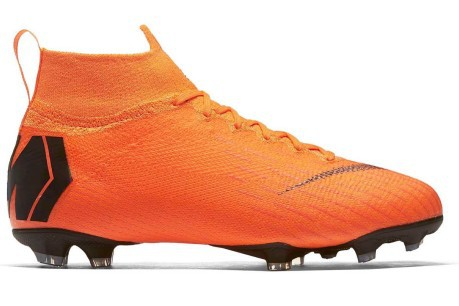 Soccer shoes Child Nike Mercurial Superfly VI Elite FG colore Orange ... 36998ed44f20