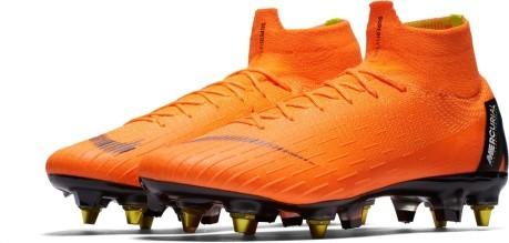 sale retailer a2f7f 55be1 Soccer shoes Nike Mercurial Superfly VI Elite SG Pro colore Orange ...