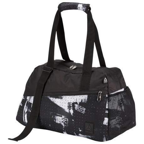 Borsa Donna Enh & Go Graphic Grip nero bianco