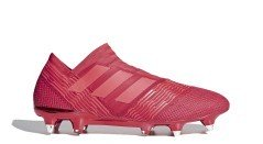 Fußball schuhe Adidas Nemeziz 17+ 360 Agility SG Cold Blooded Pack rot