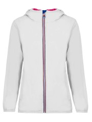 Windproof jacket Women white red