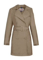 Impermeabile Donna beige