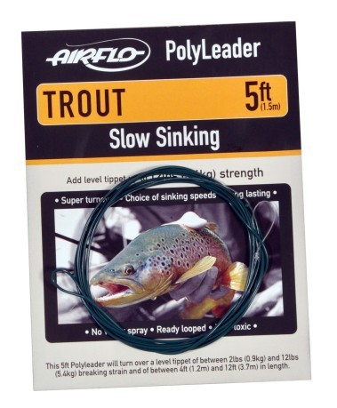 Terminale Trout 8' Polyleader Clear Floating