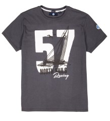 Herren T-shirt Graphic 57 grau model
