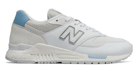 new balance homme foot daim blanc