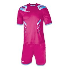 Football complet Gemmes viper rose/bleu