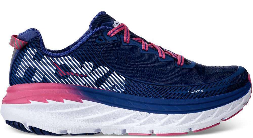 Ladies Running Shoes Bondi 5 Neutral A3 colore Blue Pink - Hoka One One -  SportIT.com 4aa33531ff2