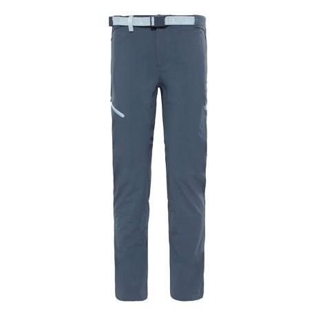 d55ff30b298e03 Pants Trekking Women's Speedlight colore Grey - North Face - SportIT.com