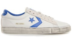Mens shoes Pro Vulc Leather OX white blue