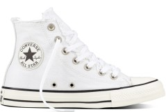 Shoes CT All Star High white Denim right