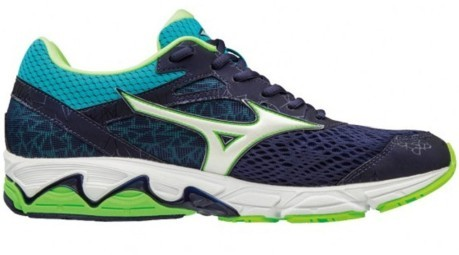 Mens Running Shoes Wave Equate 2 A4 Stable colore Blue Green ... 3cc0380d36a
