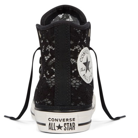 Scarpe Donna CT All Star Flower nero destra