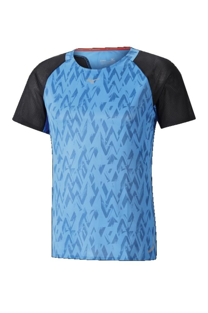 Mizuno Printed Herren Running Shirt K2GC7501 27 | SportSpar