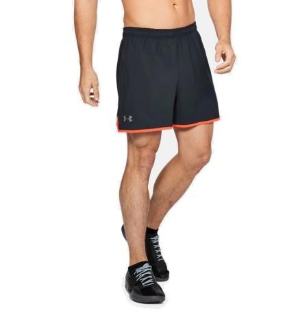 Short Man Qualifier colore Grey Red - Under Armour - SportIT.com d0558ef6a743
