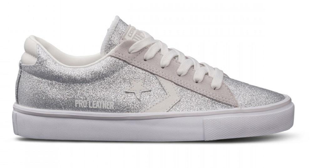 converse pro leather vulc ox glitter