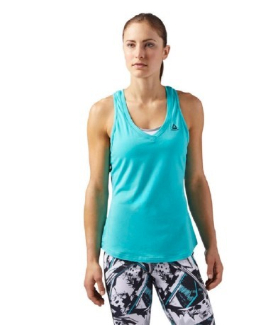 Canotta Donna Workout Ready Mesh fronte