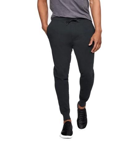 Pantalon Homme Microthread Terry Jogging colore Noir - Under Armour ... d3445727d26